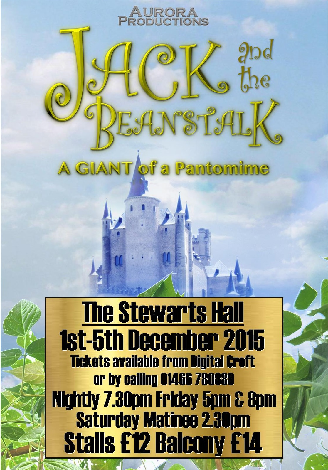 Jack and beanstalk Poster Master